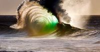 "Awesome photo....""ANGEL RIDING ON WAVE""..."