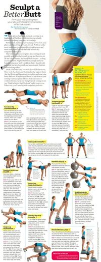 fitness workouts, glute exercises and glute workouts.
