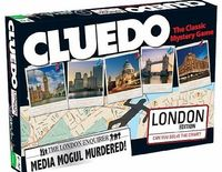 Cluedo London Edition Board Game Murder comes to London in this brand new version of Cluedo! But who is the victim? Who are the subjects? And where did it all take place? Was it the Mayor;on Tower Bridge (Barcode EAN = 5036905019903) http://www.co...