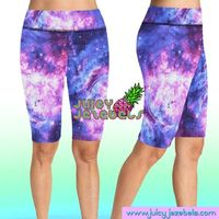 INTERGALACTIC Rave Shorts Bike Shorts Cycling Shorts High Waisted Shorts Rave Clothing Music Festival Clothing Rave Outfit Rave Wear £29.00