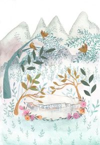 The Enchanted Forest - Emma Block Illustration