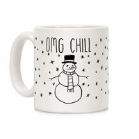How Would You Use This? �œ�Handcrafted in USA! �œ� Omg Chill Ceramic Coffee Mug $14.99