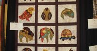 Sentimental Reasons Quilt Show by sailbit, via Flickr