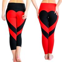 Women's Love Heart Booty Leggings $25.99