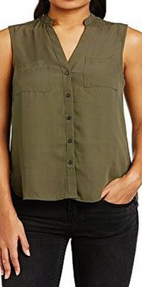New Look Womens Memphis Pocket Front Sleeveless Shirt, Khaki, Size 16 No description http://www.comparestoreprices.co.uk//new-look-womens-memphis-pocket-front-sleeveless-shirt-khaki-size-16.asp