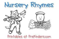 These printable nursery rhyme posters and activity cards can be used in your preschool classroom. Read the Terms of Use Nursery Rhyme Posters These posters come