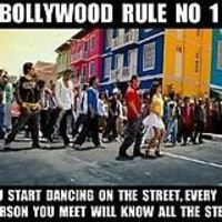 Bollywood group dance - It's a must.