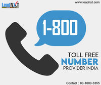 Toll-Free Number Provider India  Toll free number India allows your customers to call at your business at zero cost. Click here for a free demo of LeadNXT toll free number in India. https://leadnxt.com/toll-free-number.html
