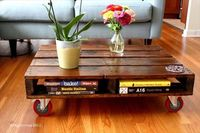 DIY Pallet Coffee Table Project