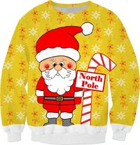 North Pole Santa Sweatshirt $59.95