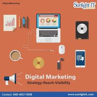 Sunlight IT is a leading Digital Marketing company our holistic services include social media marketing, search engine optimization, internet reputation management and social media optimization. Digital Marketing is a key objective to promote your busines...
