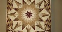 lone star quilt pattern   My Favorite Lone Star Pattern. Fun quilt to make - Quilters Club of ...