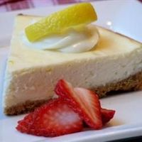 ***Creamy Cheesecake from Allrecipes.com. Tastes great--like the cream cheese pie I used to make. Only cook 15 minutes instead of 25. I subbed the sweeteners and used a large lime and lime zest in addition to 2 teaspoons of lemon extract, so the sweetener...