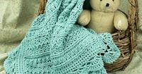 [Free Pattern] Adorable Pattern Mayflower Baby Blanket designed by Tammy Hildebrand For Anyone In The Baby Blanket Making Mood