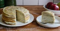 How to Make a Crêpe Cake ~ Crêpe cake looks and tastes fancy -- but it's easier to make than you think.