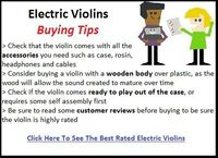 Electric Violins - Buying Tips