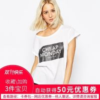 Oversized Sexy Printed Scoop Neck Alphabet Casual Short Sleeves T-shirt Top - Bonny YZOZO Boutique Store