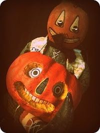 Pumpkin Folk Art