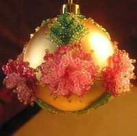 Christmas crafts from beads2