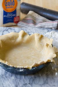 Make your own foolproof pie crust with this recipe.
