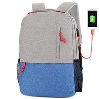 Outdoor Camping Nylon 25L USB Charging Backpack Waterproof Large Big Capacity Laptop Bag