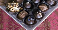 How to make Gingerbread Truffles and Christmas Chocolates Give-a-way