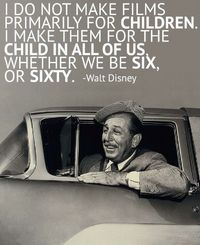 Wise words from Walt Disney