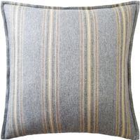 Belmont Stripe Woodsmoke Pillow by Ryan Studio $225.00