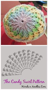 I made the Candy Swirl Hat last year before our CuppyCake was born. Since, the original pattern is in Russian, I had made a few changes to it because I just didn't understand it. I...