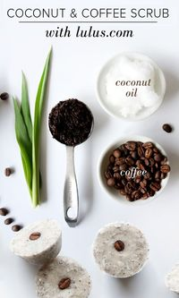 Want to tone your skin, reduce cellulite & stretch marks, & feel energized with one beauty product? Our DIY coconut coffee scrub cubes are super easy to make!
