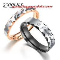 Stainless Steel I will always be with you Rings. $10.99.jpg