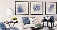 Blue and white is refreshing and calming with any style of decorating.
