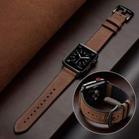 Silicone Leather Strap for Apple Watch Series 5/4/3/2/1 44mm 40mm $33.99