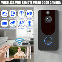 Wireless Ring Video Doorbell WiFi Security Phone Bell Intercom 720P Intercom