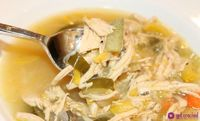 Slow Cooker Harvest Chicken Soup. I'll probably make this on the stove so the veggies don't get all mushy.