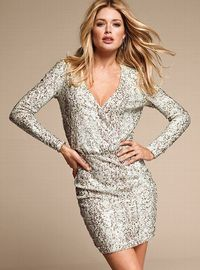 Sequin Mesh Dress - Victoria's Secret My New Year's Eve dress