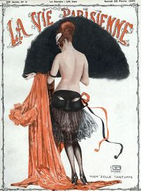 Illustration by Georges Leonnec For La Vie Parisienne Februaury 1920