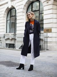Navy coats, golden sequins, high heeled pumps and distressed jeans are things we're keeping on eyes on this week. Tried any of it yet? Don't forget to let us kn
