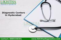 Likhitha Diagnostics is a benchmark for quality and excellence in diagnostic medicare. Established in the year 2006, we are a team of dedicated doctors and health care professionals with extensive experience and committed in providing quality diagnostic s...