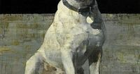 francois bard, Paulette - I'm not usually a fan of pet portraits but this is lovely