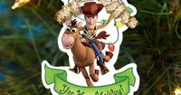 Toy Story Holiday Ornaments - Happy holidays and beyond! Turn Buzz and Woody into adorable ornaments for your tree.