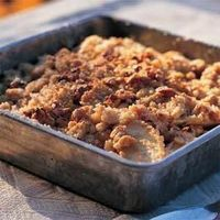 This delicious apple crisp is so satisfying, family and friends won't even know it's light, too! Make this dessert recipe tonight.