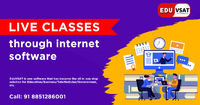 Through using Eduvsat software, you can get live classes through internet software very quickly. Eduvsat is very easy to set up in absolutely no time and it is very popular among coaching classes. Know More Call: +91-885-128-6001 or Visit https://www.eduv...