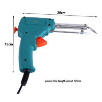 HB-585A 220V 60W Manual Soldering Gun Electric Automatic Soldering Tin Gun Solder Iron Tool Kit