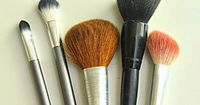 How To Clean Your Make Up Brushes on TheHowToCrew.com