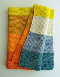 New Super Easy Baby Blanket - the purl bee