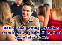 Dating quote with people image