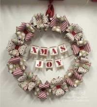 Stampin' Up! Stamping T! - Season of Style Wreath - no tutorial but one picture says it all