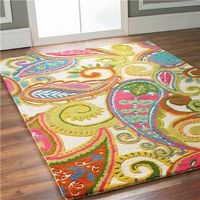 """I did not know it was possible to actually fall in love with a floor recovering. You had me at """"Color Pop Paisley"""""""