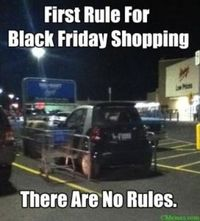 Black Friday rules